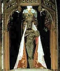 Black Virgin of Halle inBelgium