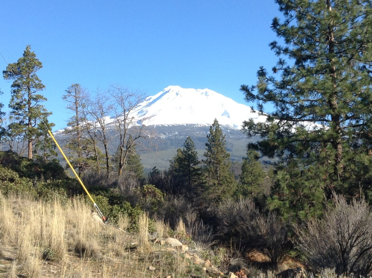 Vision on Mt. Shasta