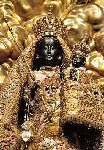 The Black Virgin Calls