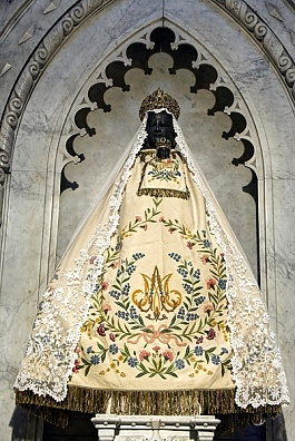 The Black Virgin of Pezenas