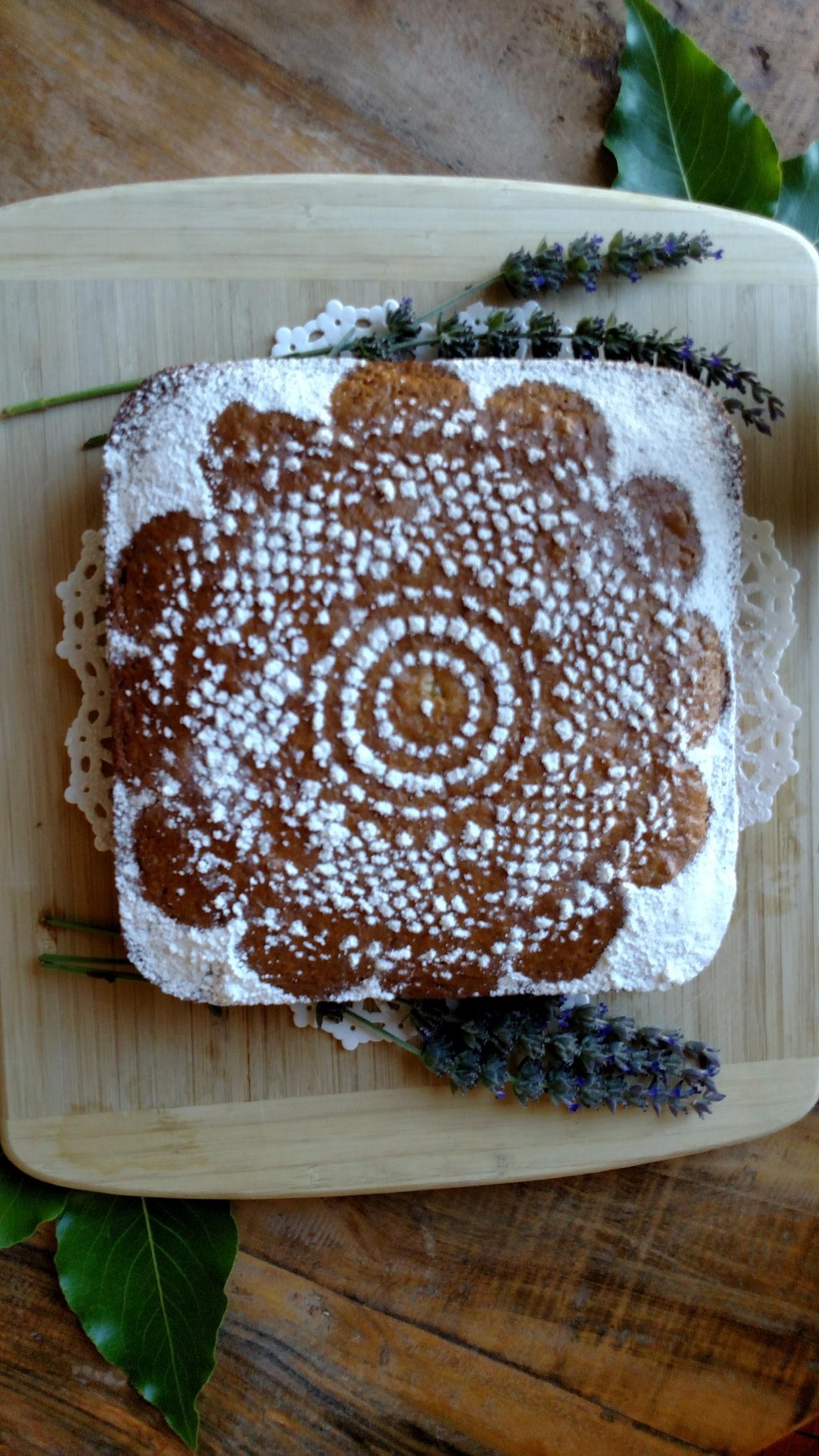 Lavender Lace Cake